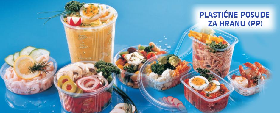 Plastične posude za hranu